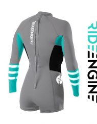 ГИДРОКОСТЮМ RIDEENGINE WMS ALMAR SHORTY LONG SLEEVE BACK ZIP 2/2