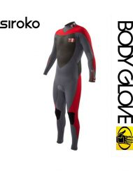 ГИДРОКОСТЮМ BODY GLOVE 2015 SIROKO BK/ZIP 4/3 FULLSUIT RED
