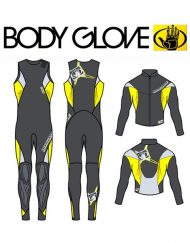ГИДРОКОСТЮМ BODY GLOVE 2015 TORQUE COMBO 3/3 YELLOW