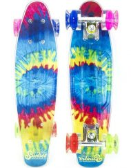 Круизер SUNSET SKATEBOARDS TIE DYE GRIP COMPLETE 22