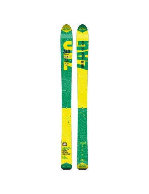 Горные фрирайд лыжи ZAG Ubac Taille XL 2017