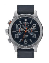NIXON 48-20 CHRONO LEATHER