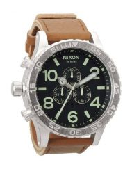 Часы NIXON 51-30 CHRONO LEATHERbb