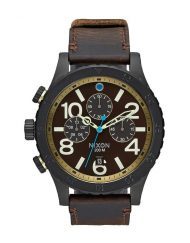 NIXON 48-20 CHRONO LEATHERbbb