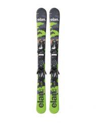 Комплект: горные лыжи с креплениями Elan PINBALL PRO QS EL 4.5 2017