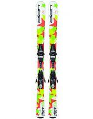 Комплект: горные лыжи с креплениями Elan STARR QT EL 2016