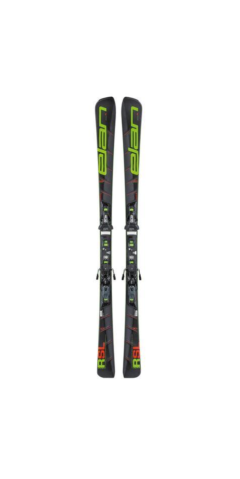 Комплект: горные лыжи с креплениями Elan SL F EL11.0 2017