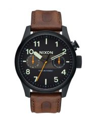 Часы NIXON SAFARI DELUXE LEATHER 2017