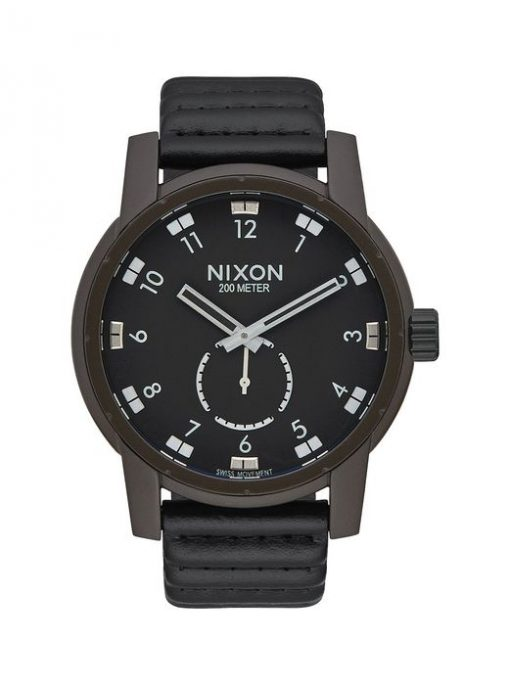 Часы NIXON PATRIOT LEATHER 2017lll