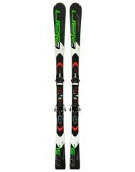 Комплект: горные лыжи с креплениями Elan SL EL 11 Fusion 2018