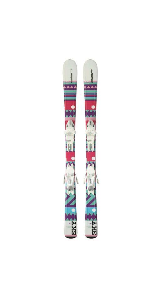 Комплект: горные лыжи с креплениями Elan Sky QS 2018