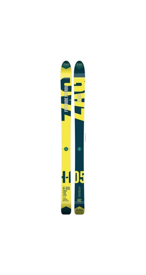Горные фрирайд лыжи ZAG H105 2018