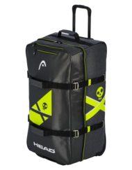 Сумка на колесиках Head Rebels Travelbag 2019 является очень вместительной из-за ее больших размеров. Теперь эта сумка вмещает в себя до 100 литров. В прошлом сезоне она вмещала на 10 л меньше. Стильно и практично. Подробные характеристики в описании ниже.