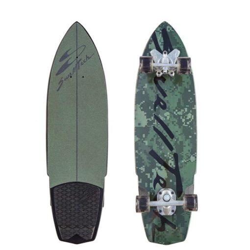 camo surfboard